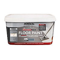Ronseal Slate - Perfect Finish Diamond Hard Floor Paint - 2.5L