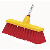 Wolf Multi-Change Yard Broom Attachment