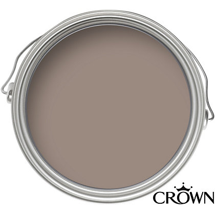 Image for Crown Breatheasy Solo Cocoa - One Coat Matt Emulsion Paint - 40ml Tester from StoreName