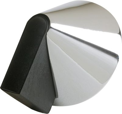 Image of Door Stop - Polished Chrome