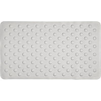Super White Rubber Bath Mat.