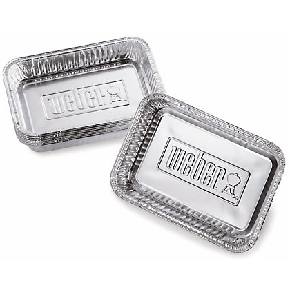 Image for Weber BBQ Drip Pans (Small) from StoreName