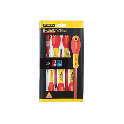 Image for Stanley Fat Max Insulated Screwdriver - 6 Piece from StoreName