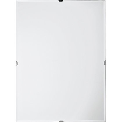 Image for Unframed Large Rectangular Bevelled Mirror from StoreName