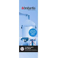 Brabantia Bin Liners - White - 50L and 60L - 10 Pack