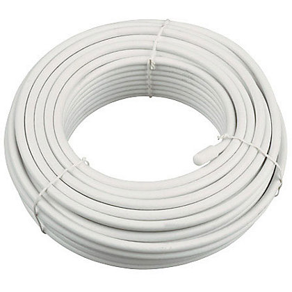 Image for Coaxial Cable - White - 25m from StoreName