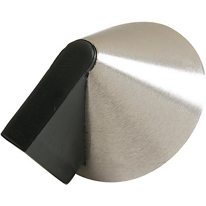 Image for Door Stop - Satin Nickel from StoreName