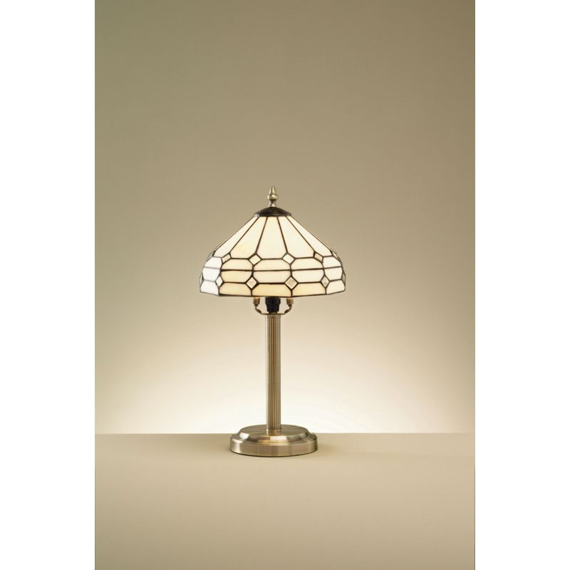 Table lamp antique brass effect 43 5cm the mirror tiffany style table  Glass Table Lamp Homebase   Best Inspiration for Table Lamp. Tiffany Style Lamps Qvc Uk. Home Design Ideas