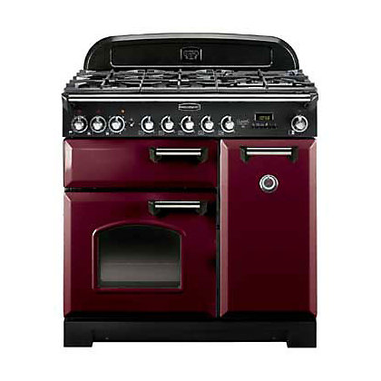Image for Rangemaster Classic Deluxe 84490 90cm Dual Fuel Cooker - Brown from StoreName