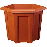 Regency Hexagonal Planter - Terracotta