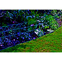Apollo Green Border Fence - 1000x400mm