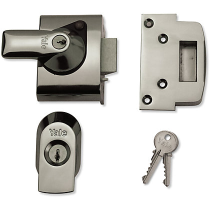 Image for Yale BS2 British Standard Nightlatch 40mm - Chrome from StoreName