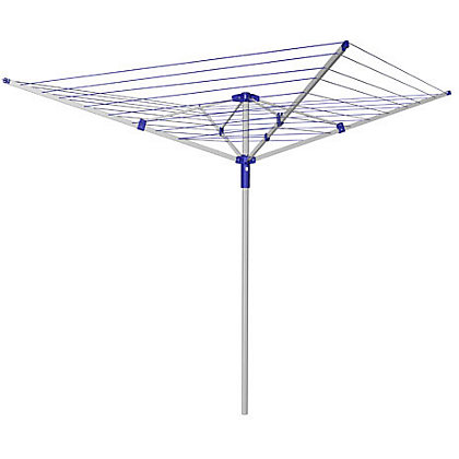 Image for Homebase Heavy Duty 4 Arm Rotary Airer Dryer - 45m from StoreName