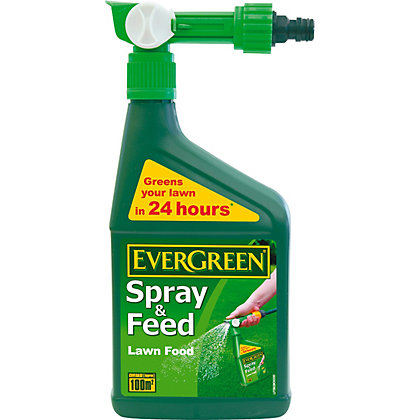 Image for EverGreen Spray and Feed Lawn Food - 100 sq m from StoreName
