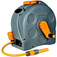Hozelock 2 in 1 Compact Enclosed Reel - 25m