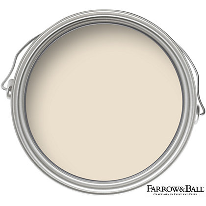 Image for Farrow & Ball Estate No.1 Lime White - Matt Emulsion Paint - 2.5L from StoreName