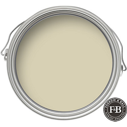Image for Farrow & Ball Estate No.15 Bone - Matt Emulsion Paint - 2.5L from StoreName