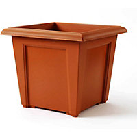 Regency Square Planter - Terracotta