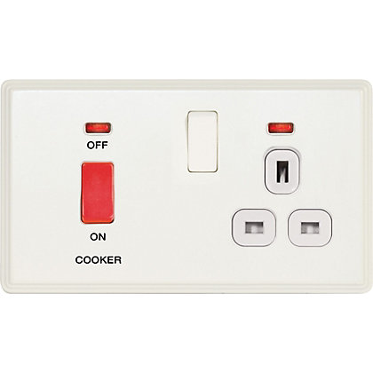 Image for Laura Ashley 45A Cooker Control Unit - Cream from StoreName