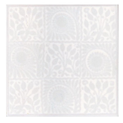 Image for V&A William De Morris White Square Ceramic Wall Tile from StoreName