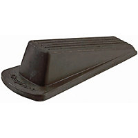 Door Wedge - Brown Rubber