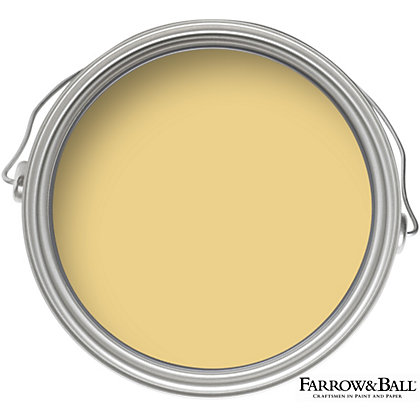 Image for Farrow & Ball Estate No.51 Sudbury Yellow - Matt Emulsion Paint - 2.5L from StoreName