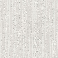 Superfresco Stria Wallpaper - White