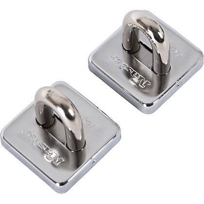 Image for Master Lock Hardened Steel Outdoor Anchor - 2 Pack from StoreName