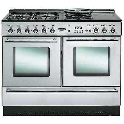 Image for Rangemaster Toledo XT 76340 110cm Dual Fuel Cooker - Silver from StoreName