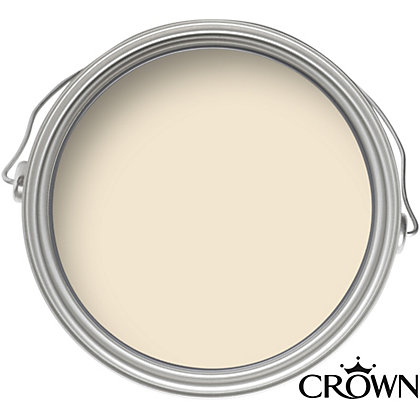 Image for Crown Breatheasy Delicate Cream - Matt Emulsion Paint - 5L from StoreName