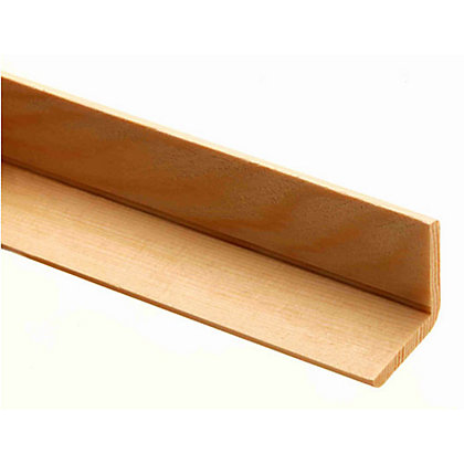 Image for Richard Burbidge Angle Moulding - Pine - 2400 x 27 x 27mm from StoreName