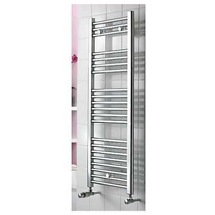 Image for Torino Heated Towel Rail - 900 x 420mm - Chrome from StoreName