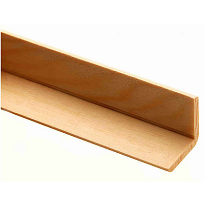 Image for Richard Burbidge Angle Moulding - Pine - 2400 x 34 x 34mm from StoreName