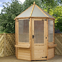 Mercia Buttermere Octagonal Summerhouse - 6ft x 6ft