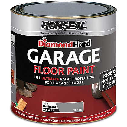 Image for Ronseal Diamond Hard Slate - Garage Floor Paint - 2.5L from StoreName