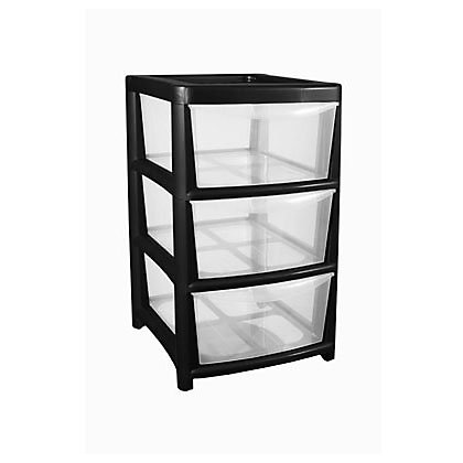 Image for 3 Drawer Tower Storage Unit from StoreName