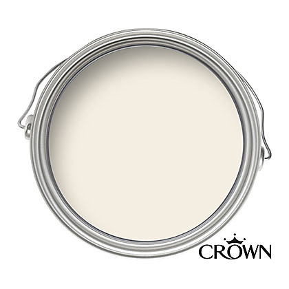 Image for Crown Period Colours Breatheasy Aged White - Flat Matt Emulsion Paint - 40ml Tester from StoreName
