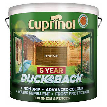 Image for Cuprinol Ducksback - Forest Oak - 9L from StoreName