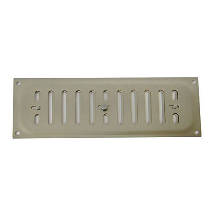 Image for Adjustable Vent - Satin Nickel - 229x76mm. from StoreName