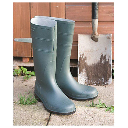 Image for Wellingtons in Green - Size 11 from StoreName