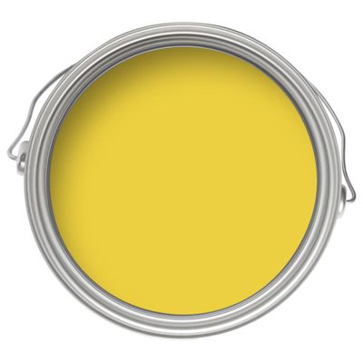 Dulux feature wall lemon punch matt emulsion paint 1 25l