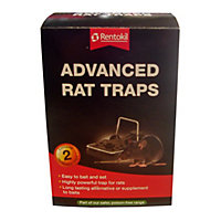 Rentokil Advanced Rat Traps (Pack of 2)