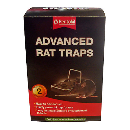 Image for Rentokil Advanced Rat Traps (Pack of 2) from StoreName
