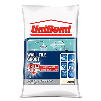 Unibond Anti Mould Grout Pen White 7ml