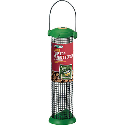 Image for Gardman Flip Top Nut Bird Feeder - Large from StoreName