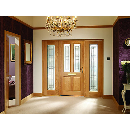 Image for External Oak Triple Glazed Malton Door - 838mm Wide from StoreName