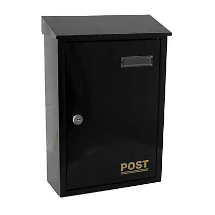 Image for Copenhagen Letterbox - Black from StoreName