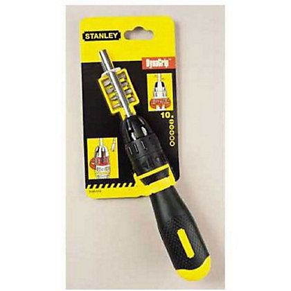Image for Stanley Multibit Ratchet Screwdriver from StoreName