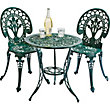 Ascot 2 Seater Bistro Patio Furniture  Set - Green.