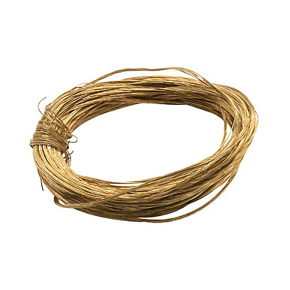 Image for Medium Duty Picture Wire - Brass Plated - 5m from StoreName